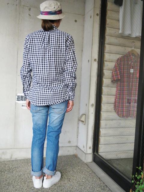 INDIVIDUALIZED SHIRTS ・・・ GIN GUAM CHECK SHIRTS!★!_d0152280_20524256.jpg
