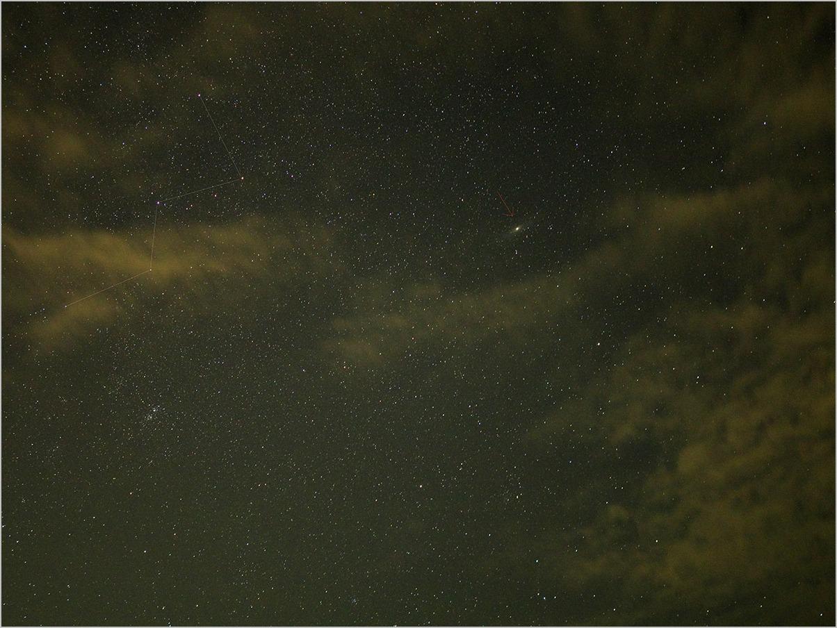 アンドロメダの夜 the night of Andromeda #OLYMPUS OM-D E-M5II_c0065410_16594222.jpg