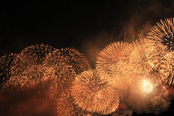 2015年 大津駐屯地から見る琵琶湖花火大会_d0202264_15143288.jpg