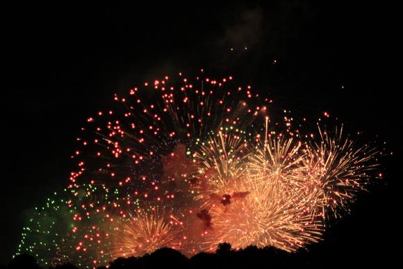 2015年 大津駐屯地から見る琵琶湖花火大会_d0202264_15154820.jpg