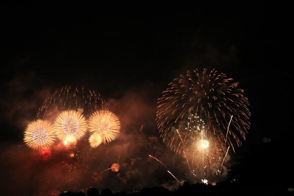 2015年 大津駐屯地から見る琵琶湖花火大会_d0202264_1571755.jpg