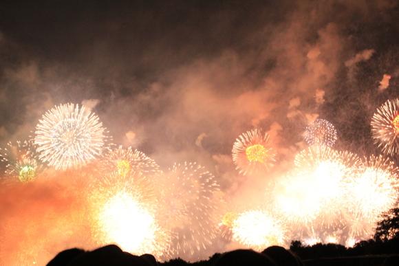 2015年 大津駐屯地から見る琵琶湖花火大会_d0202264_157457.jpg