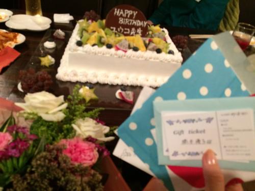 今月2回目のHappy Birthday( ̄▽ ̄)_d0256587_01431485.jpg