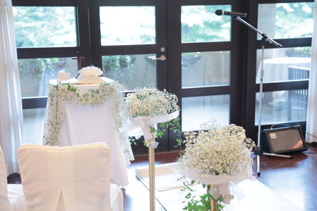 夏の装花 ルヴェソンヴェール駒場さまへ 本当によいひと時を_a0042928_14325368.jpg