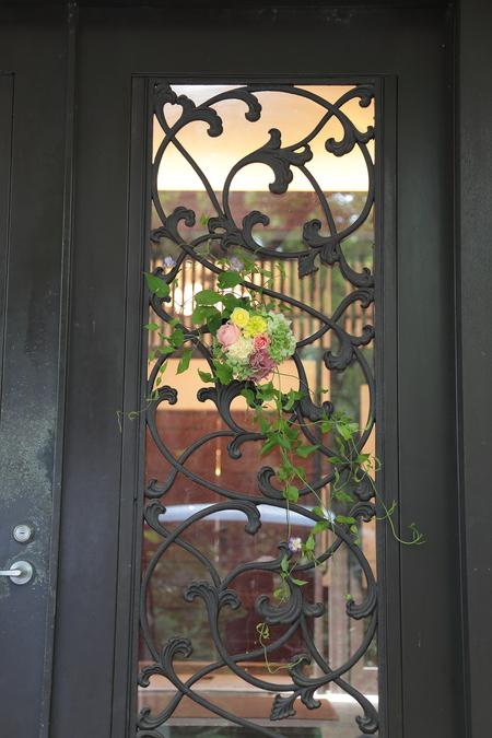 夏の装花 ルヴェソンヴェール駒場さまへ 本当によいひと時を_a0042928_14341857.jpg