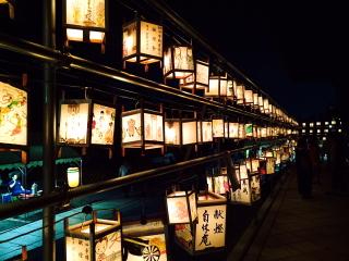 夜の妙心寺 お精霊迎え  2015_b0325640_15254767.jpg