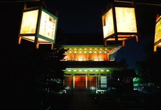 夜の妙心寺 お精霊迎え  2015_b0325640_15263127.jpg