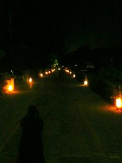 夜の妙心寺 お精霊迎え  2015_b0325640_1529378.jpg