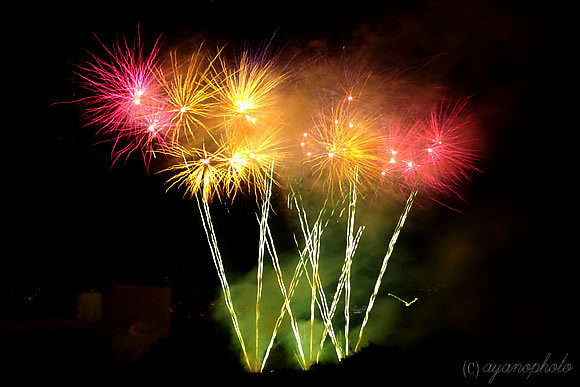 2015年第65回高知市納涼花火大会のスターマイン