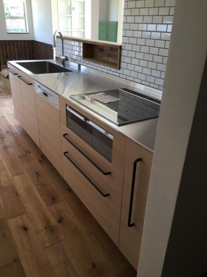 別注キッチン工事 完了_f0053665_12451876.jpg