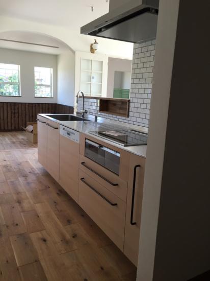 別注キッチン工事 完了_f0053665_12451945.jpg