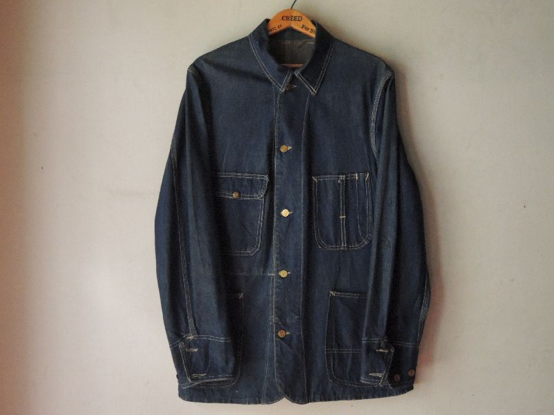 30S~ BURLINGTON OVERALL DENIM COVERALL--RECOMMEND--_c0176867_1241065.jpg