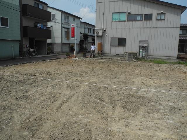 現場の様子(中島の家) その一_c0247768_13352359.jpg