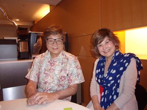 今夕は、片岡五郎氏とマダム路子さんご夫妻とお会いしました・・・。_c0198869_2281450.jpg