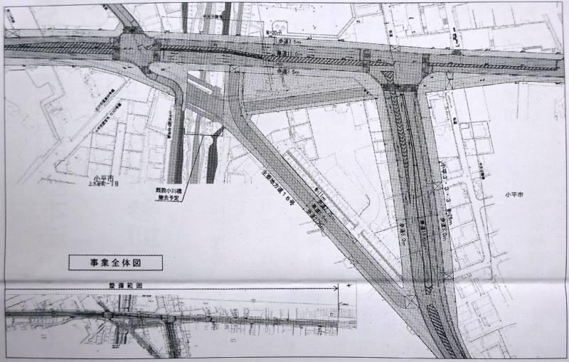 小川橋周辺の都市計画道路3路線の整備着手_f0059673_23072571.jpg