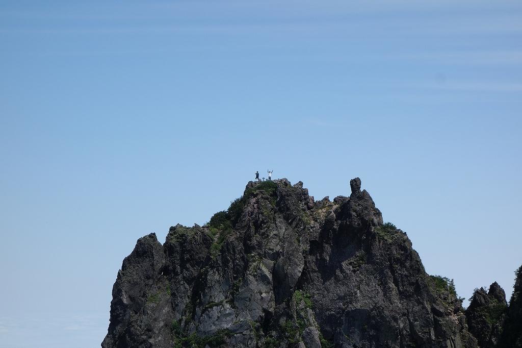 恵庭岳西峰と本峰、8月8日_f0138096_11303878.jpg