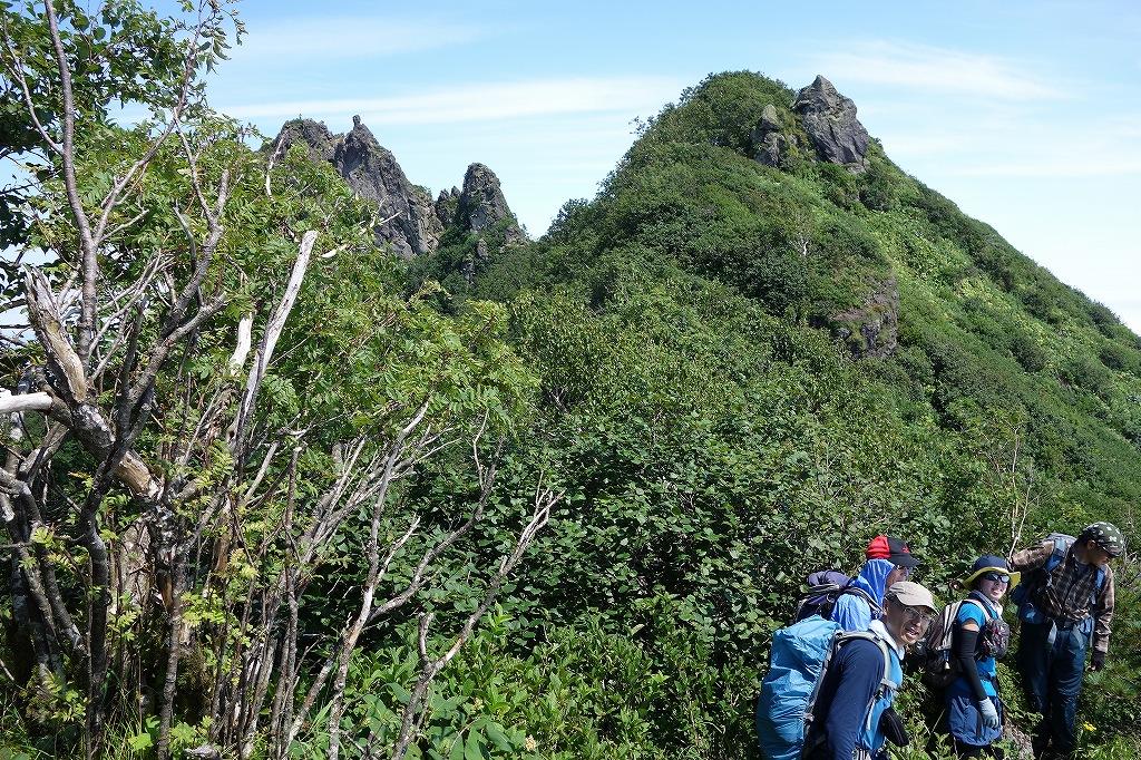 恵庭岳西峰と本峰、8月8日_f0138096_11305815.jpg