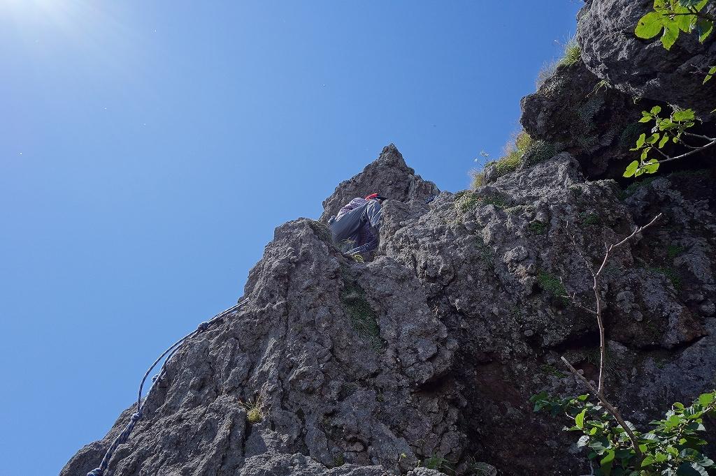 恵庭岳西峰と本峰、8月8日_f0138096_11312223.jpg