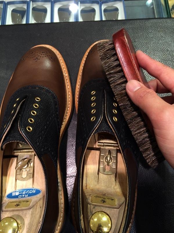 セールで買った靴を履く前に!_b0226322_10373465.jpg