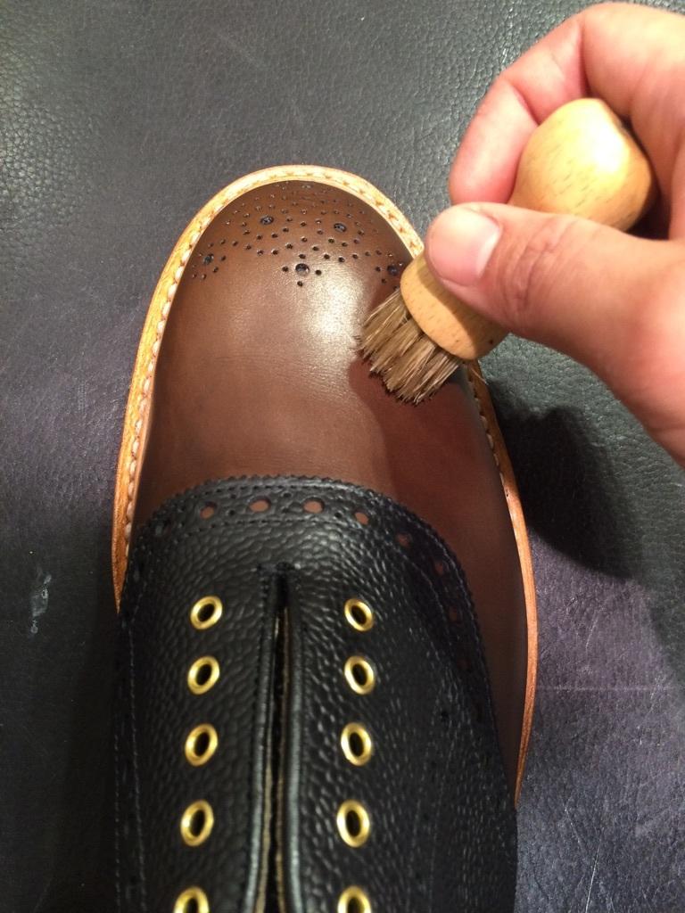 セールで買った靴を履く前に!_b0226322_10465879.jpg