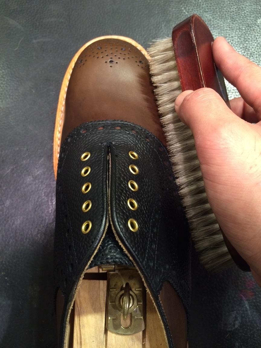 セールで買った靴を履く前に!_b0226322_10470038.jpg