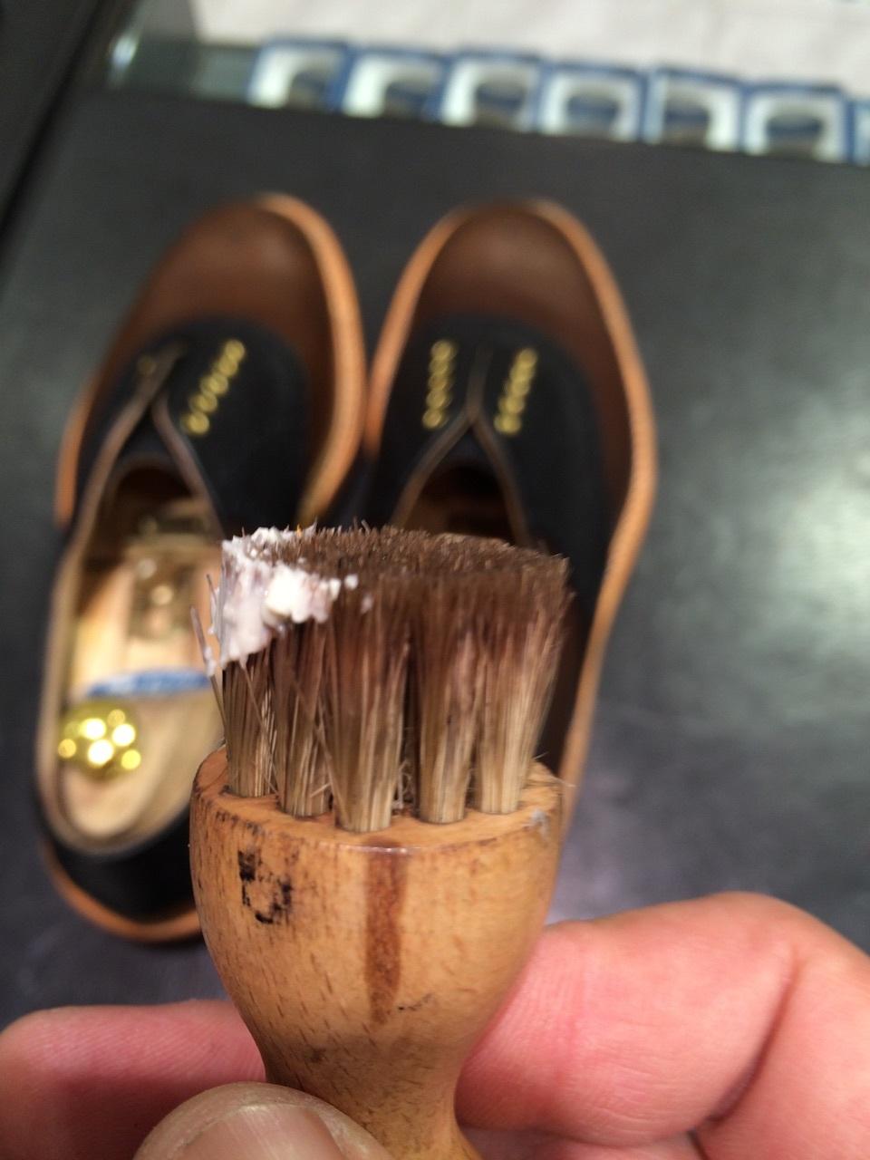 セールで買った靴を履く前に!_b0226322_10470807.jpg