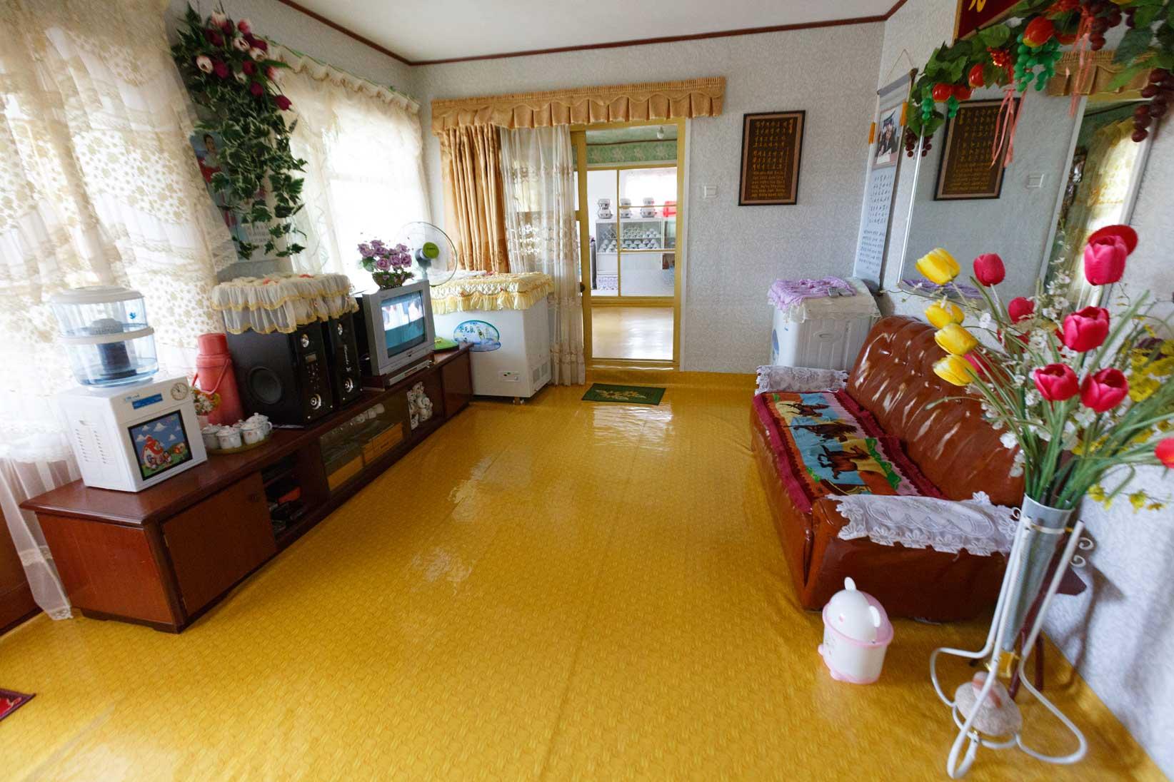 朝鮮でホームステイ その奇妙な世界_b0235153_16314276.jpg