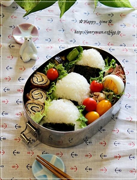 おにぎりさん弁当と~♪_f0348032_18352195.jpg