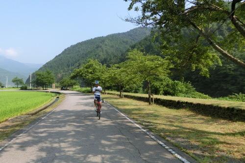 乗鞍サイクリングの続き・・・長良川サイクリング&輪行_b0332867_18113985.jpg