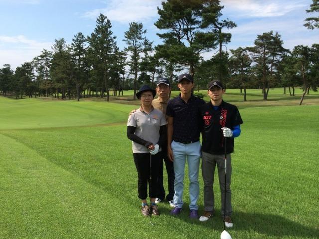 家族でゴルフ_d0192712_18553542.jpg