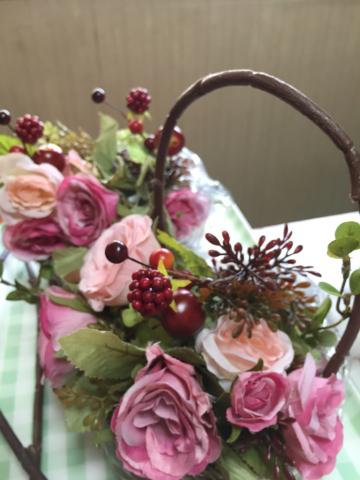 花冠とバスケット⁈_e0086864_01415533.jpg