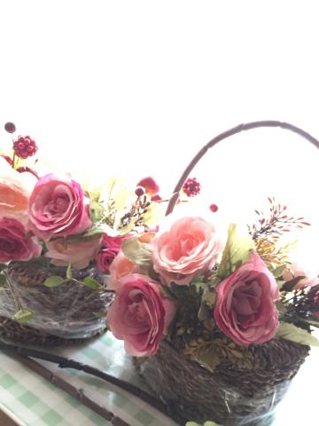 花冠とバスケット⁈_e0086864_01415587.jpg