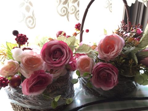 花冠とバスケット⁈_e0086864_01415590.jpg