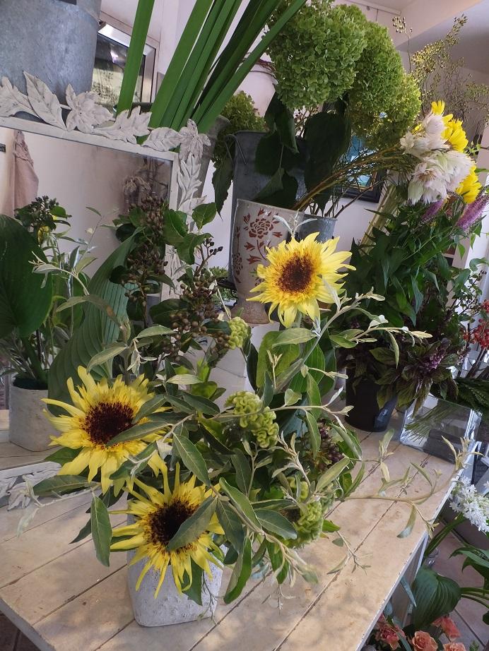 オークリーフ花の教室(田中さんの作品)_f0049672_17415382.jpg