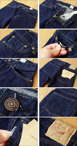 orslow [オアスロウ] IVY FIT JEANS DENIM ONE WASH [00-0107-81] LADY\'S_f0051306_15551644.jpg