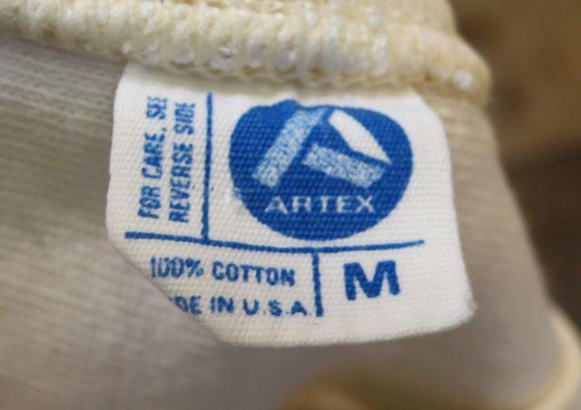 8/15(土)入荷!70s~all cotton ARTEX    フットボールTシャツ!_c0144020_14173477.jpg