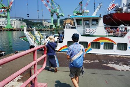 2015iwasaki夏の修学旅行・香川・高松→愛媛・今治→小島→道後温泉。_f0177373_1922208.jpg