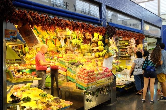 Mercado de Vegueta グランカナリア島のラス パルマス中央市場_b0246303_03211792.jpg