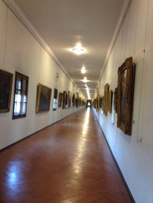 ヴァザーリの回廊に入ってから二人の有名人_a0136671_3405195.jpg