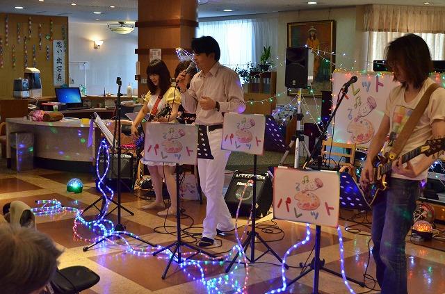 8月9日、高齢者施設でパレットライブを行いました♪_e0188087_17142912.jpg