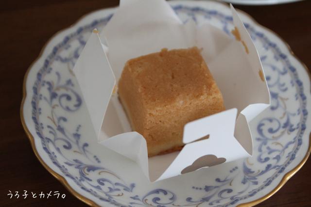 *資生堂パーラー* 〜チーズケーキ キャラメルサレ〜_f0348831_10142642.jpg