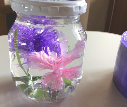 水中花 作り方 基本のたんぽぽ_b0292535_16423682.jpg