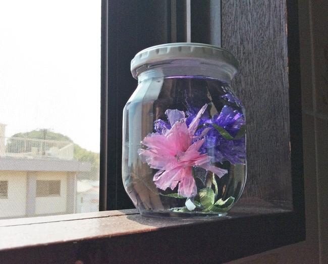 水中花 作り方 基本のたんぽぽ_b0292535_16451151.jpg