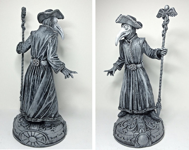 Venetian Plague Doctor Statue by Michael Locascio_e0118156_22483997.jpg