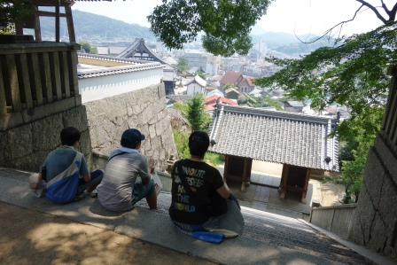 2015iwasaki夏の修学旅行・広島・尾道→鞆の浦。_f0177373_1923225.jpg