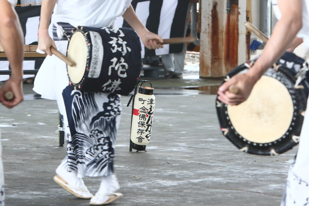 大津町の盆船流し <1> じゃんがら念仏踊り 2015・08・16_e0143883_1019840.jpg