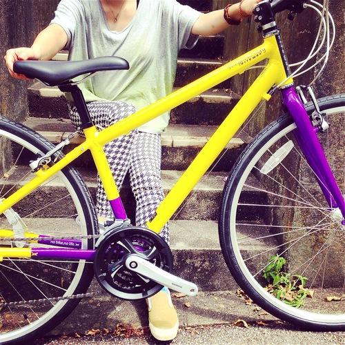 2016 RITEWAY 『SHEPHERD CITY』ライトウェイ シェファードシティ クロスバイク 女子 おしゃれ自転車_b0212032_20585533.jpg