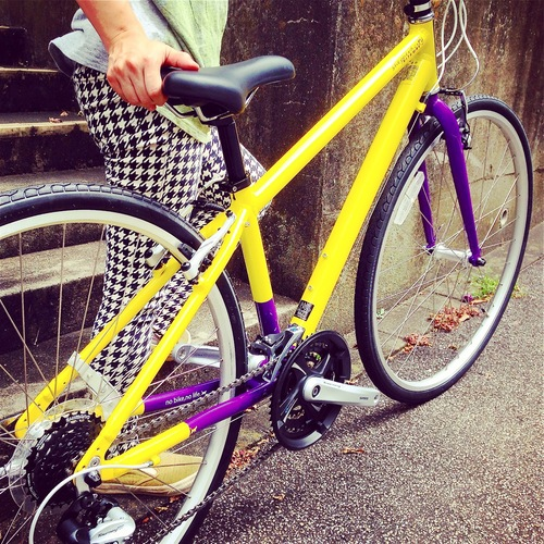 2016 RITEWAY 『SHEPHERD CITY』ライトウェイ シェファードシティ クロスバイク 女子 おしゃれ自転車_b0212032_20592252.jpg