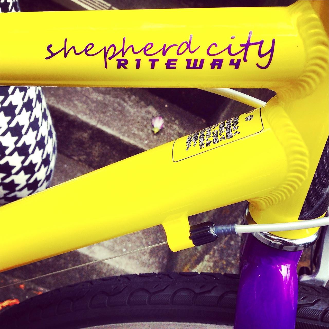 2016 RITEWAY 『SHEPHERD CITY』ライトウェイ シェファードシティ クロスバイク 女子 おしゃれ自転車_b0212032_2059986.jpg