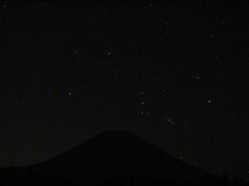 2015.8.16富士山より昇るオリオン_e0321032_1559387.jpg